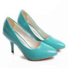 Tiffany Blue [not sure what brand/heel height/or anything haha]