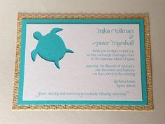 SAMPLE  Hawaiian Wedding Invitation  Custom by lilybeedesigns, $5.00