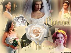 wedding of the charmed sisters 31148785 Movie Wedding Dresses, Wedding Movies, Charmed Tv Show, Charmed Sisters, Ghost Whisperer, Holly Marie Combs, Rose Mcgowan, Love Charms, Alyssa Milano