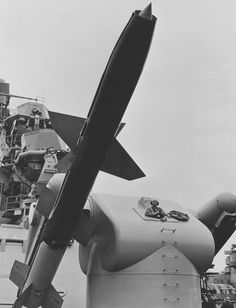 fed834bb47040 Close-up of Talos missile installation aboard the guided missile cruiser USS  Galveston (CAG