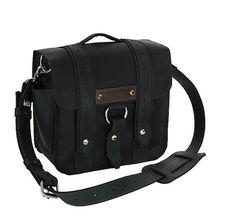 10 Brooklyn Black Safari iPad Tablet Bag by CopperRiverBags