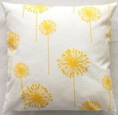 throw pillows-these would be cute spring pillows