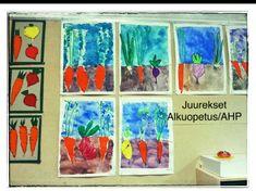 Juurekset ALKUOPETUS/AHP Art Lessons, Art Projects, Foundation, Artwork, Crafts, Painting, Craft Ideas, Spring, Kunst