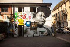 Street art presso quartiere Isola, Milano  http://milanoarte.net/it/visite-guidate-a-milano