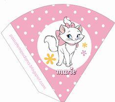 Mini Kit Personalizado Gatinha Marie para imprimir | Kit ...