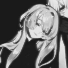 #matching #icons #couples #draincore #aesthetic Cute Anime Profile Pictures, Matching Profile Pictures, Cute Anime Pics, Gothic Anime Girl, Dark Anime Girl, Friend Anime, Anime Best Friends, Matching Pfp, Matching Icons