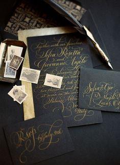 cool 51 Creative DIY Halloween Themed Wedding Invitation Ideas http://www.lovellywedding.com/2017/09/30/51-creative-diy-halloween-themed-wedding-invitation-ideas/