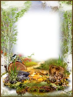 Photo-Frame-Autumn-in-the-Forest.png (960×1280)