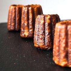 Canelés de Bordeaux - crispy, caramelized outside, custard inside - the perfect sweet treat!