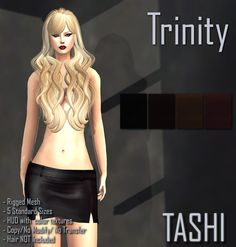 ____________________________________________Some Like It Hot_________________________________________________ 2.- TASHI Trinity a very sexy and short skirt comes with a HUD and 4 color options  Landmark Some Like it Hot http://maps.secondlife.com/secondlife/Sage%20Isle/129/128/30