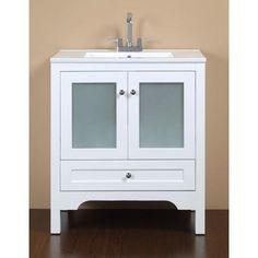 Ove Decors Hermes Vanity White 30 Inch Home Gl Vanitywhite Homesbathroom Vanitiesbathroomshermeshome Depotcanada
