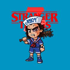 Check out this awesome 'Steve+Harrington' design on Steve Harrington Stranger Things, Stranger Things Merchandise, Waves Wallpaper, Joe Keery, Literature Club, Kids Outfits, Graphic Tees, Strangers Things, Sketches