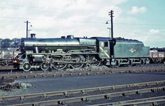 Stanier 'Jubilee' Class 4-6-0 No. 45562 'Alberta' at Carlisle Kingmoor MPD on 26th August 1967.