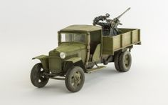 GAZ MM with Flak 30 1/35 Scale Model