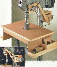 Drill Press Oscillating Drum Sander - Sanding Tips, Jigs and Techniques | WoodArchivist.com