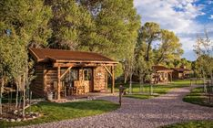 Wyoming Camping, Wyoming Vacation, Dude Ranch Vacations, Rustic French Country, Guest Cabin, Guest Ranch, Luxury Cabin, Cabins And Cottages, Cabins In The Woods