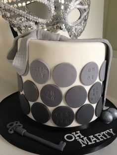 Another 50 shades of grey cake
