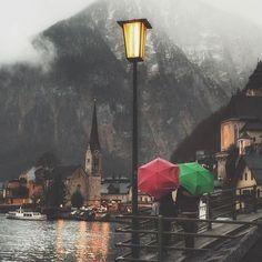 Enchanting night ❤ ~ Hallstatt, Austria  Photo: @bu_khaled Great pic!   TAG someone you love   #living_europe #hallstatt #austria #hallstattlake #osterreich #österreich #vscoaustria #igersaustria #ig_austria #loves_austria #austriatoday #visitaustria