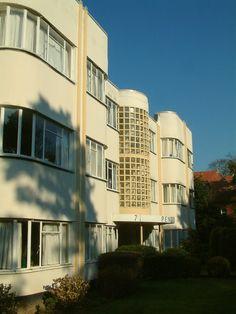 Pendennis , a spectacular apartment block.  Dorset Pines.
