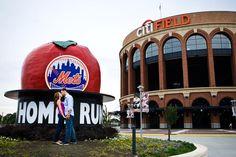 Home run at the Homerun Apple! #mets