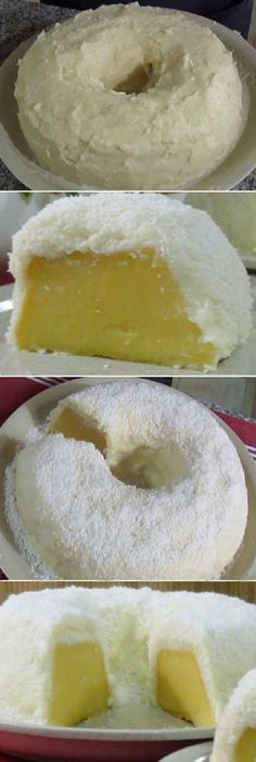 PASTEL DE COCO Atrapa Maridos sin horno - Recipes, tips and everything related to cooking for any level of chef. Yummy Treats, Delicious Desserts, Sweet Treats, Yummy Food, Tortas Light, Cake Recipes, Dessert Recipes, Savarin, Pan Dulce