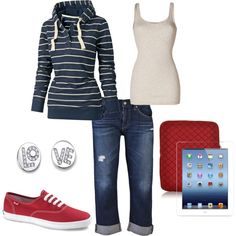 """...not a back to school for me, but great for a """"Chill day """"Back to School"""" by tammietoo2 on Polyvore"""