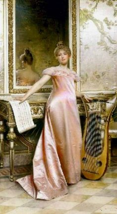 ♪ The Musical Arts ♪ music musician paintings - Frederic Soulacroix - Pinterest