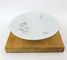 "1960's Hertel Jacob Porzellan 12"" Coupe Serving / Centerpiece Bowl / Mid Century Modern"