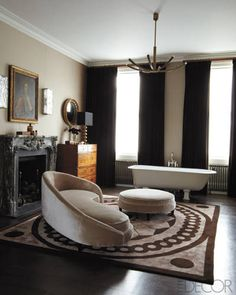 Peter Mikic and Sebastian Scott's London Home - ELLE DECOR
