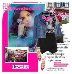 """Selena Gomez"" by dora04 ❤ liked on Polyvore featuring Arco, Yves Saint Laurent, Boohoo, Valentino and Chicnova Fashion"