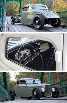 33 Ford five Window Coupe by Ricky Bobby's Rod Shop