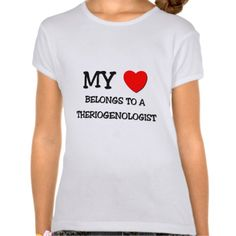 My Heart Belongs To A THERIOGENOLOGIST Shirt, Hoodie Sweatshirt
