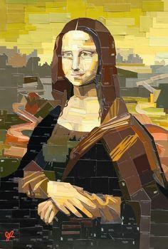 Jennifer Lashbrook - «DIY Mona Lisa».
