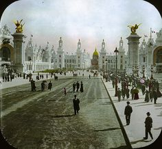 Paris Exposition, 1900~Donnine ~