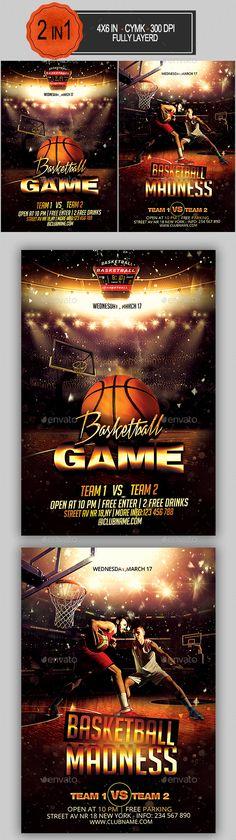 Basketball Flyer  Flyers Basketball And Flyer Template