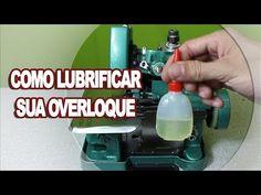 Como Lubrificar a sua Máquina de Costura Overloque Semi Industrial GN1-6D - YouTube