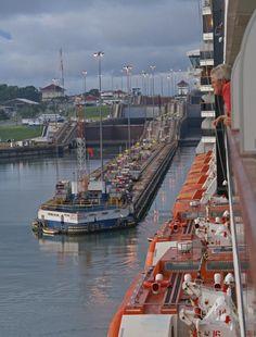 Panama Canal, Panama.  Photo: Heather Coen.