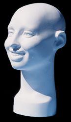 Smiling Female Head