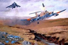 RAZONYFUERZA - Pinturas guerra de malvinas - Guerras Post Segunda Guerra Mundial