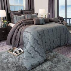 Somerset Home Jolene 100 Percent Cotton Bedding Comforter Set, Multicolor