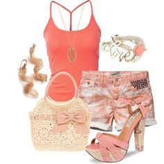 Perfect outfit for #summer! #Pastel