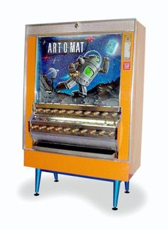 Access Gallery's Art-O-Mat Vending Machine Sells Art To The Masses In Denver's Art District On Santa Fe