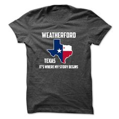 #Statestshirt... Nice T-shirts  Worth :$23.00Purchase Now  Low cost Codes View photographs & photographs of Weatherford Its Where My Story Begins Special Tees 2014 t-shirts & hoodies:When you do not completely love our design, you possibly can SEARCH your f....