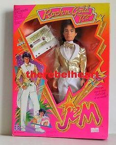JEM-Rio-Doll-1986-HASBRO-Glitter-N-Gold-MIB-Sealed-NRFB-New-In-Box-PACHECO-Rare