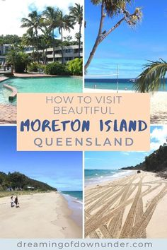 Plan an amazing trip from Brisbane to Moreton Island, a tropical holiday destination reached by ferry. See Tangalooma wrecks and go camping or stay at Tangalooma Resort. #australia #brisbane #tropicalisland Coast Australia, Queensland Australia, Australia Travel, Best Places To Travel, Places To See, Travel Advise, Travel Tips, Things To Do In Brisbane, Australian Photography