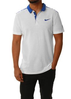 Nike Men's Roger Federer Dri Fit Stay Cool Tennis Polo Shirt