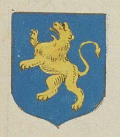 Le Corps des Officiers de la Barronnie de Preuilly. Porte : d'azur, à un lion d'or | N° 109 > Loches