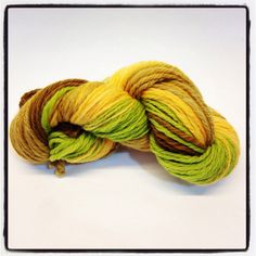 Handspun wool perfect for any project multi colored by Jackpie