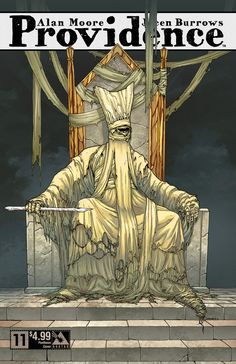 Providence issue 11 - pantheon cover. Alan Moore, Jacen Burrows (Avatar Press)