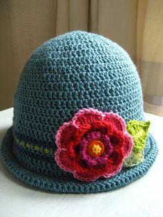cappello fiore